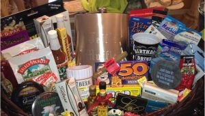 Fiftieth Birthday Gifts for Him 50th Birthday Gift Basket for Him 50th Birthday Gift