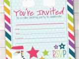Fillable Birthday Invitations Free Items Similar to Fill In Roller Skating Party Invitations