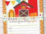 Fillable Birthday Invitations Free Pumpkin Party Printable Birthday Party Invitations Fill In the