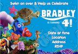 Finding Nemo Birthday Invitation Template Finding Nemo Birthday Invitations Template Best Template