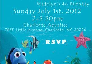 Finding Nemo Birthday Party Invitations Buckeye Barrys Blog We Found Nemo Madelyn 39 S Finding Nemo