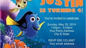 Finding Nemo Birthday Party Invitations Free Printable Finding Dory Invitations Ideas Free