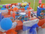 Finding Nemo Decorations for Birthdays Finding Nemo Birthday Party Ideas Photo 7 Of 8 Catch