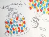 Fingerprint Birthday Cards Free Printable Fingerprint Birthday Cards Pink Stripey socks