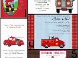 Fire Truck 1st Birthday Invitations It 39 S A Fire Truck Party the Scrap Shoppe