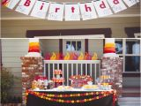 Fire Truck Birthday Decorations Fire Truck Birthday Party Decorations and Banner