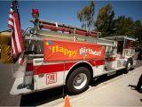 Fire Truck Birthday Decorations Kara 39 S Party Ideas Firetruck Birthday Party