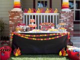Fire Truck Birthday Decorations P C Real Life Party Jack 39 S Firetruck Birthday Paper