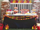 Fire Truck Birthday Decorations Party Frosting Fireman Firetruck Birthday Party Ideas