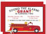 Fire Truck Birthday Invitations Free Birthday Invitation Templates Fire Truck Birthday