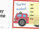 Fire Truck Birthday Invitations Free Fire Truck Dot to Dot Printable
