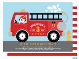 Fire Truck Birthday Invitations Free Fire Truck Invitation Fire Truck Birthday Party Invitations