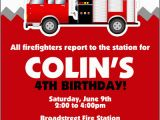 Fire Truck Birthday Invitations Free Firetruck themed Birthday Party with Free Printables How
