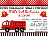 Fire Truck Birthday Invitations Free Free Printable Fire Truck Birthday Invitations