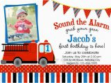 Fire Truck Birthday Invitations Free Printable Birthday Party Invitations Fire Truck Fire