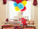 Fire Truck Birthday Party Decorations A Vintage Firetruck Birthday Party anders Ruff Custom