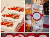 Fire Truck Birthday Party Decorations Real Party Fire Truck Birthday