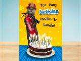 Firefighter Birthday Cards Birthday Card Weasel Fireman Garlanna Greeting Cards