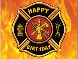 Firefighter Birthday Cards Firefighter Happy B Day Firefighters Birthday Cards
