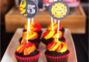 Firefighter Birthday Decorations Kara 39 S Party Ideas Fireman Birthday Party Kara 39 S Party Ideas