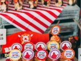 Firefighter Birthday Decorations Kara 39 S Party Ideas Rustic Firefighter Birthday Party