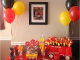 Firefighter Birthday Decorations Vincent 39 S Firefighter Party Project Nursery