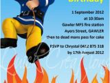 Fireman Sam Birthday Invitations Childrens Birthday Invitations Fireman Sam Birthday