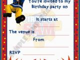 Fireman Sam Birthday Invitations Fireman Sam Birthday Party Invitations Invites by Shazian