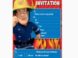 Fireman Sam Birthday Invitations Fireman Sam Party Invitations Fireman Sam From All You