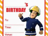 Fireman Sam Birthday Invitations Fireman Sam Party Invitations Kids Childrens Invites