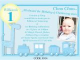First Birthday and Baptism Invitation Wording First Birthday and Baptism Invitations Dolanpedia