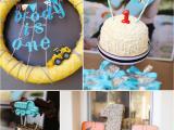 First Birthday Decoration Ideas for Boys Kara 39 S Party Ideas Construction Truck themed 1st Birthday