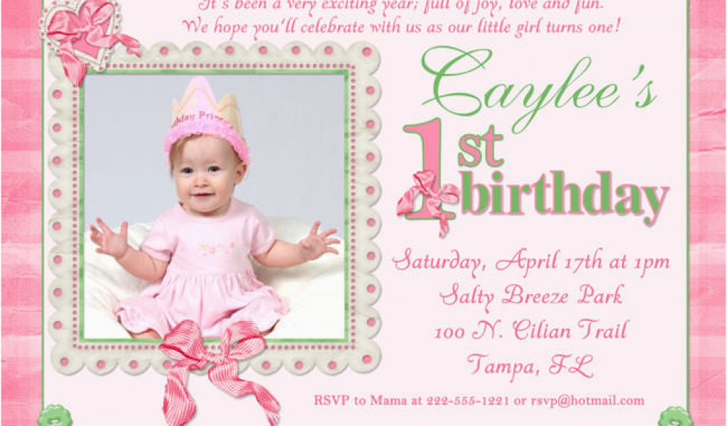 Download By SizeHandphone Tablet Desktop Original Size Back To First Birthday Ecard Invitation Free