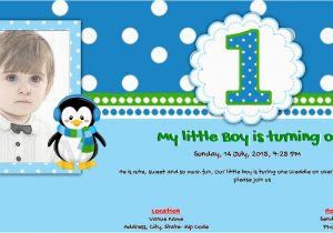 First Birthday Ecard Invitation Free 1 20 Card Online Invitations