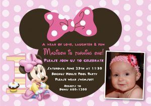 First Birthday Ecard Invitation Free Party