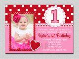 First Birthday Invitation Card Online 1st Birthday Invitations Girl Free Template Baby Girl 39 S