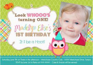 First Birthday Invitation Sayings 1st Wording Invitations Ideas Bagvania Free
