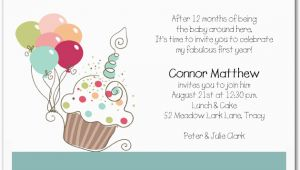 First Birthday Invitation Wording Poem First Birthday Invitation Wording Bagvania Free