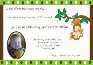 First Birthday Invitations Boy Wording 1st Invitation Sayings Best Party Ideas
