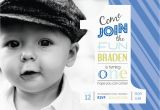 First Birthday Invitations Boy Wording Boy 1st Birthday Invitations Cimvitation