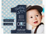 First Birthday Invitations for Boys First Birthday Party Invitation Boy Chalkboard Zazzle Com