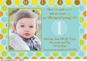 First Birthday Invitations For Boys Photo Bagvania Free Printable