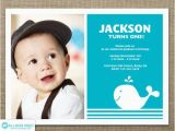First Birthday Invitations for Boys Whale Invitation 1st Birthday Invitation Nautical Boy