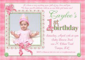 First Birthday Invitations Girl 16th Birthday Invitations Templates Ideas 1st Birthday