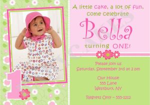 First Birthday Invitations Girl 1st Birthday Invitations Girl Free Template Baby Girl 39 S
