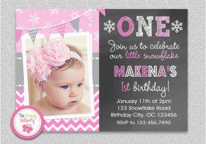 First Birthday Invitations Girl Birthday Invitation Cards Baby Girl First Birthday