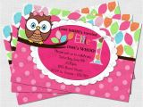 First Birthday Invitations Owl theme Owl Invitations First Birthday Best Party Ideas
