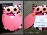 First Birthday Invitations Owl theme Owl themed Invitations Diy Inspired