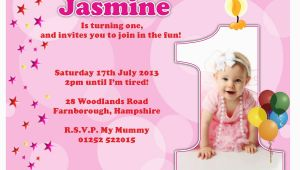First Birthday Invite Ideas 1st Birthday Invitations Girl Free Template Baby Girl 39 S