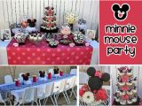 First Birthday Minnie Mouse Decorations Minnie Mouse 1st Birthday Party Ideas New Party Ideas